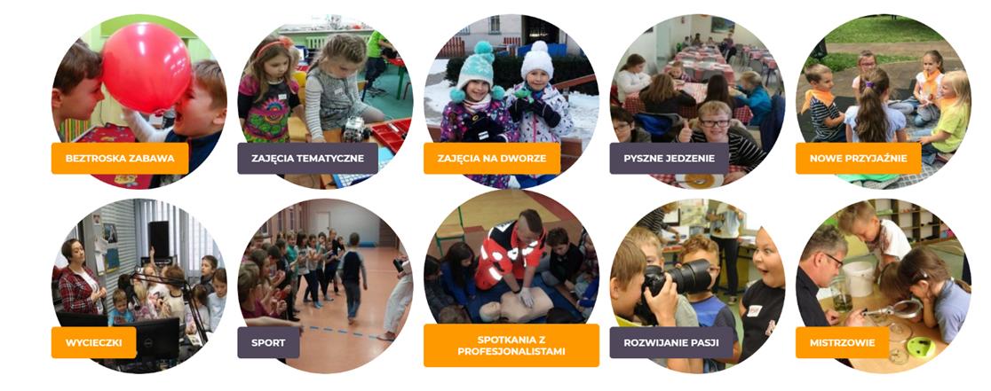 Półkolonie ZIMOWE 2010 w Warszawie, Poznaniu, Gdańsku, Łodzi, Krakowie, Lublinie i we Wrocławiu z bardzo ciekawym programem