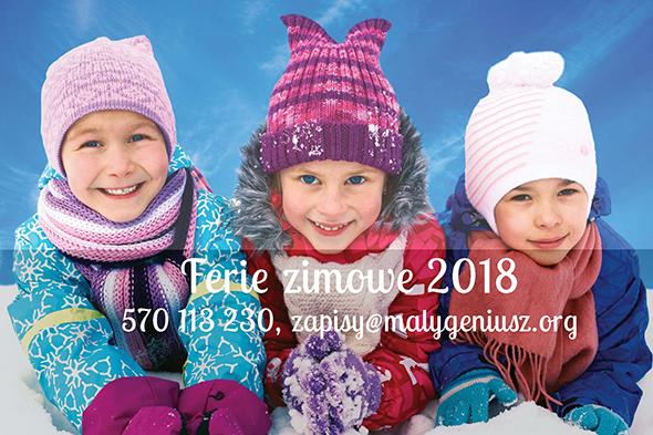 Półkolonie zimowe 2018 w Bydgoszczy, Poznaniu, Wrocławiu, Łodzi, Krakowie, Warszawie, Lublinie i Gdańsku z bardzo bogatym programem.