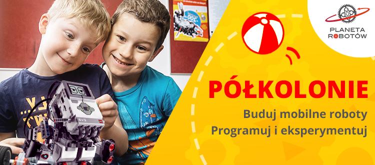 Lego Robotyka Programowanie Najlepsze Półkolonie W Warszawie
