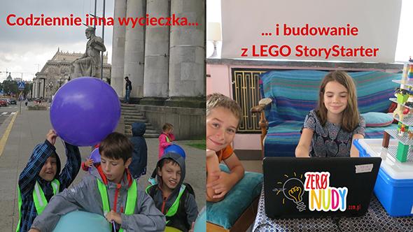 PÓŁKOLONIE z klockami LEGO Education StoryStarter
