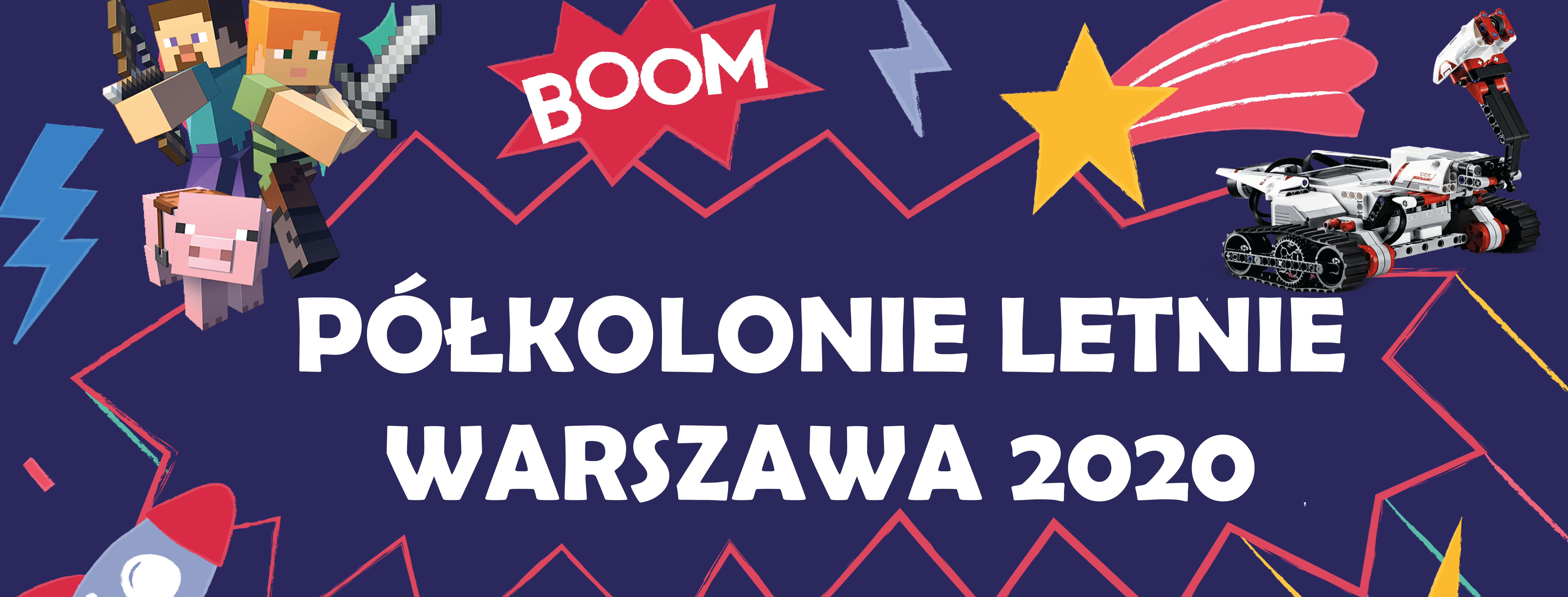 Półkolonie technologiczne w Warszawie ->MINECRAFT, ROBOTYKA, PROGRAMOWANIE I INNE ATRAKCJE!