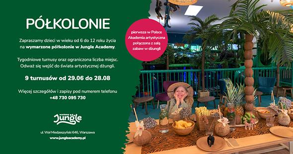 Półkolonie w Jungle Academy