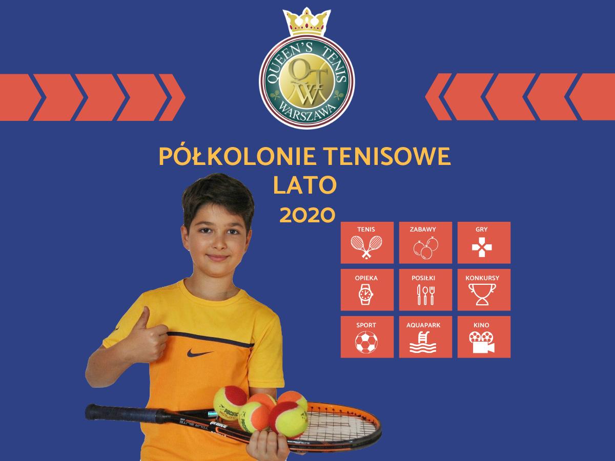 Półkolonie WARSZAWA z queen's tenis