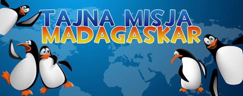 WYJĄTKOWE PÓŁKOLONIE W CENTRUM WARSZAWY- TAJNA MISJA MADAGASKAR